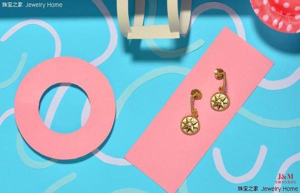 Dior 迪奥 Rose des vents系列 珍珠母贝耳环.jpg