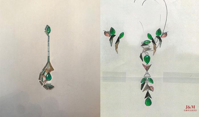 設計師Nak Armstrong的作品:Drop耳環(左)和Eden耳環(右).jpg