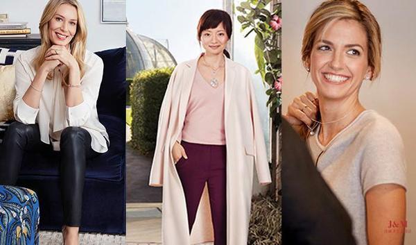 "De Beers 戴比尔斯珠宝全新全球广告形象三位""Women of Forever"":玛丽亚、由美和亚历克西斯.jpg"