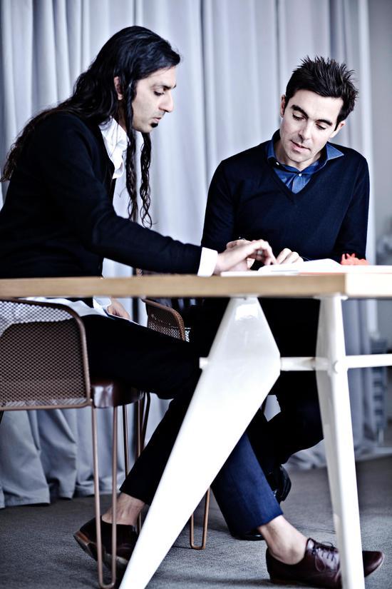 布景设计师Patrick Jouin(右) & Sanjit Manku(左).jpg
