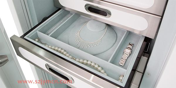 怎么可以這么美?四款珠寶陳列性抽屜設計...
