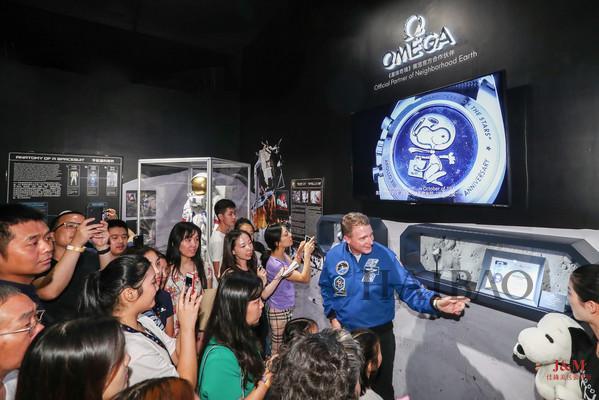 歐米茄 (Omega) 攜手NASA宇航員特里·弗茨 (Terry Virts) 亮相《星球奇境》宇宙特展深圳站.jpg