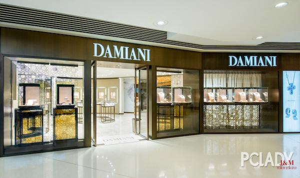 Damiani與藝人佘詩曼小姐同賀香港圓方新店開幕.jpg