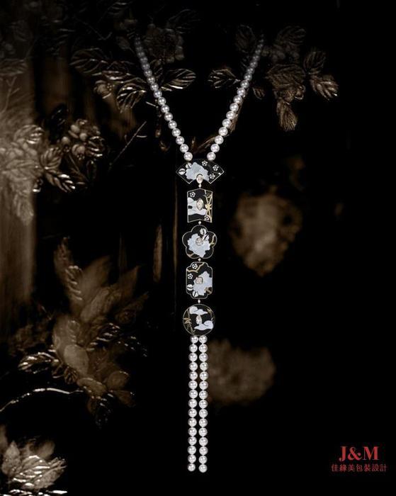 Chanel 香奈儿 臻品珠宝COROMANDEL系列 Fleu de Laque项链.jpg