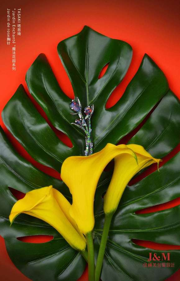 TASAKI 塔思琦魔法花园系列 Jardin de rose胸针.jpg