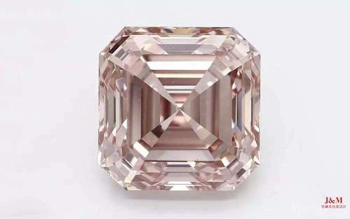 3.99ct 人工合成粉钻,Fancy Orangy Pink 色级,VS2 净度级别.jpg